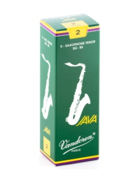 Vandoren Java Tenor Sax Reeds, Box of 5