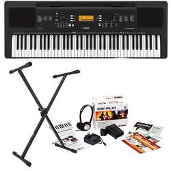 Yamaha PSR-EW300 Holiday Home Bundle
