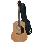 FENDER 0950816021 FA-100 Acoustic Guitar With Bag Natural