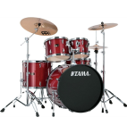 TAMA IP52KCCPM Imperial Star 5 Pc Drum Set w/Cymbals Candy Apple Mist