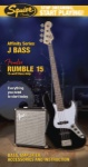 SQUIER 0301676006 Stop Deaming Start Playing J Bass Pack Black