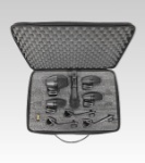SHURE PGADRUMKIT5 5 Piece Microphone Kit w/Case And Cables
