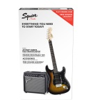 Squier By Fender Affinity Series Stratocaster HSS Pack SB