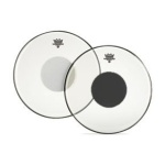 Controlled Sound Clear/Black Dot Drumhead - 10""