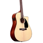 Fender CD-60SCE Acou/El Guitar Natural