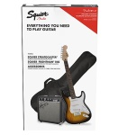 Squier Strat Pack 2018 Sunburst