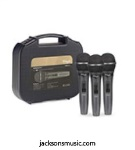 STAGG SDMP15-3 Microphone Set of 3 W Case