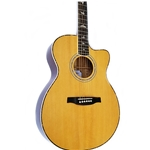 SE Angelus A40E Acou/El Guitar w/Case Natural