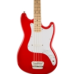 Squier Bronco Bass Red
