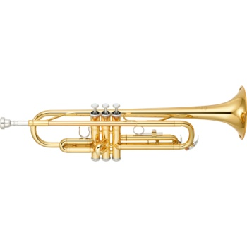 YAMAHA YTR200AD Advantage Bb Trumpet Gold Lacquer Student Level