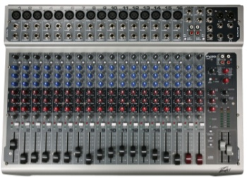 PEAVEY PV20USB 20 Channel Non-Powered Mixer w/USB