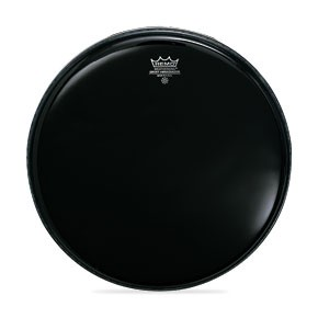 Remo Ambassador Ebony Drum Head - 15""