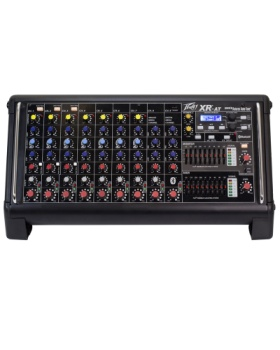 PEAVEY 03612200 XR-AT Powered Mixer 1000W  w/DSP