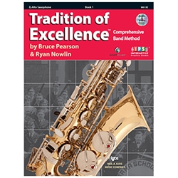 Tradition Of Excellence Book 1 Alto Saxophone
