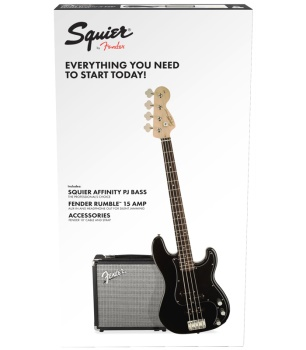 Squier By Fender Affinity Series Precision PJ Bass Pack