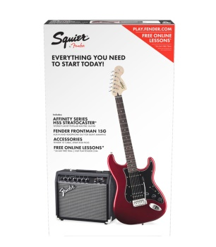 Squier By Fender Affinity Series Stratocaster HSS Pack CAR