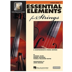 Essential Elements For Strings Book1 Violin
