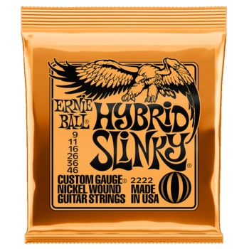 Ernie Ball 2222 Hybrid Slinky Nickel Guitar Strings