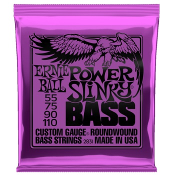 Ernie Ball 2831 Power Slinky Electric Nickel Bass Strings