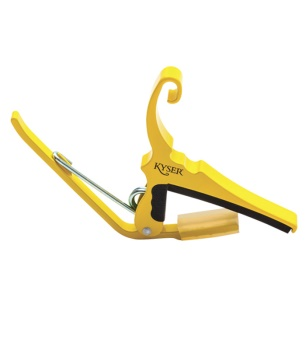 Kyser Quick Change Gutar Capo Yellow