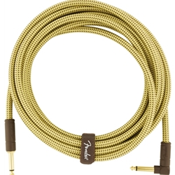 Fender Deluxe Instrument Cable Straight/Angle 15'